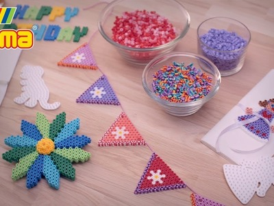 Hama beads - Birthday celebrations