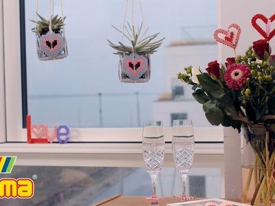 Hama beads - Valentine theme