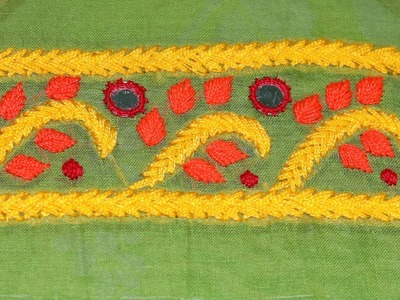 How To Design Hand Embroidery Women Kurti With Length | Diyroll
