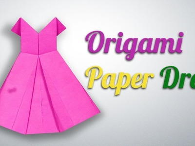 How to Make an Origami Paper Dress Step by Step