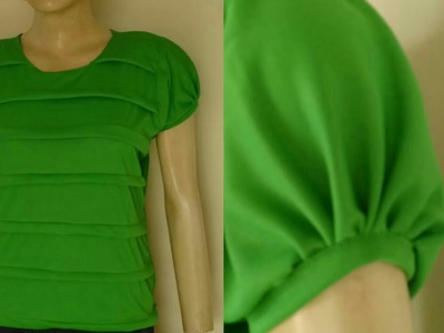 Latest self design girls top cutting and stitching easy tutorial