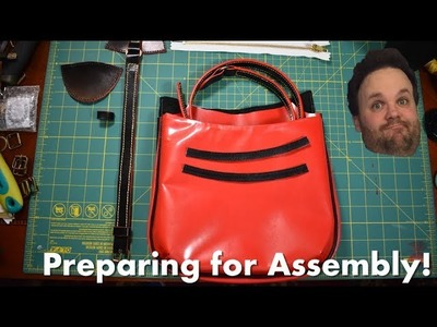 LV Handbag Restoration: Part 4: Sewing, Painting and Screwing Up!