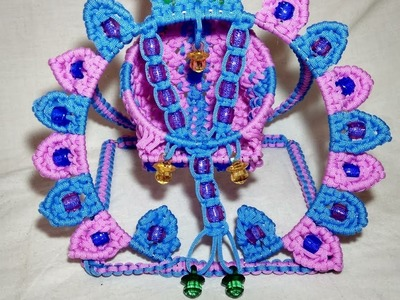 Macrame, Macrame New Design Krishna  Kanha Jhula Tutorial In Hindi