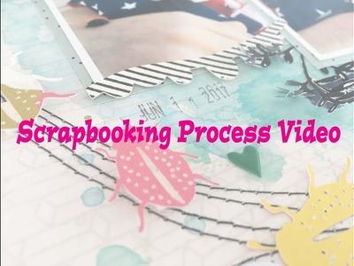 "Scrapbooking Process #152- ""Little Bugger"" for Hip Kit Club"