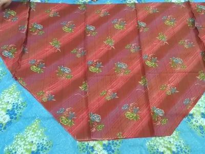 Semi patiyala salwar cutting & stitching full tutorial.Easy method
