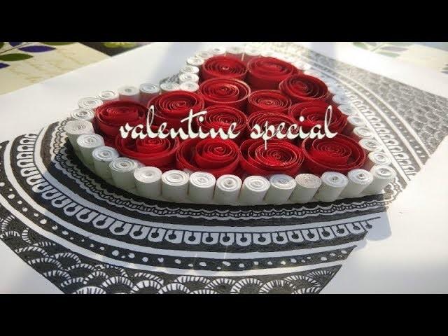 Valentine day special handmade card