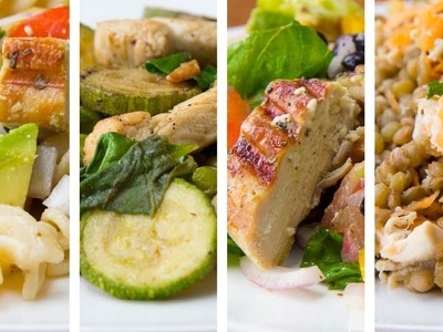 4 Healthy Lunch Ideas For Weight Loss | Quick Lunch Ideas