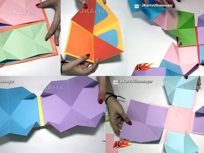 5 Squash card Technique | DIY Cards for Scrapbook |  JK Arts 1369