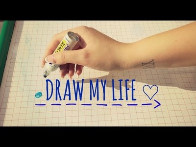 ♡ 75. DRAW MY LIFE - Disegno la mia vita ♡