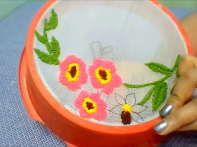 Best reuse idea of waste strainer | Best out of waste | waste material craft