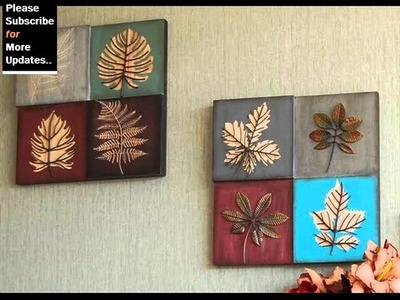 Collection Of Metal Wall Decor Leaves | Metal Tree,Leaf Wall Art Ideas