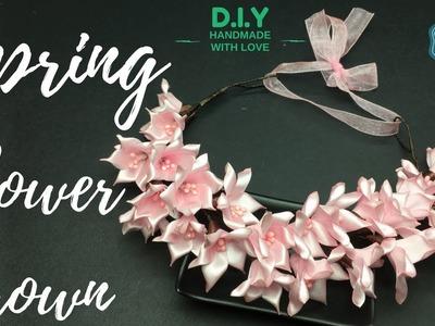 D.I.Y. Spring Flower Crown   MyInDulzens