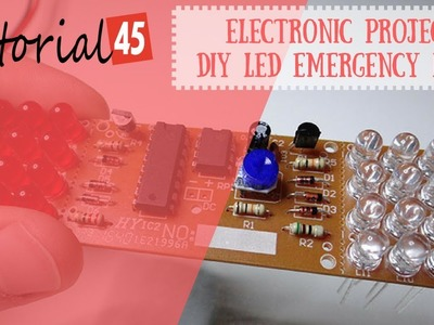 DIY LED project for beginners