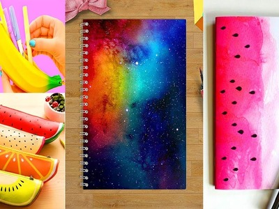 DIY School Supplies! 25  Weird Back to School Hacks! 2018