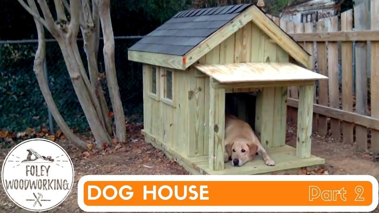Dog House Build Part 2