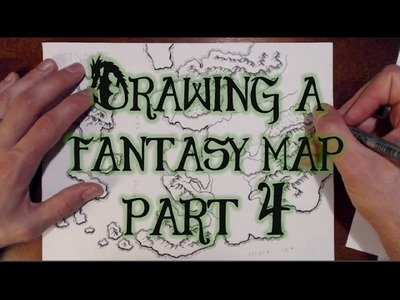 Drawing a Fantasy Map (part 4) - Forests