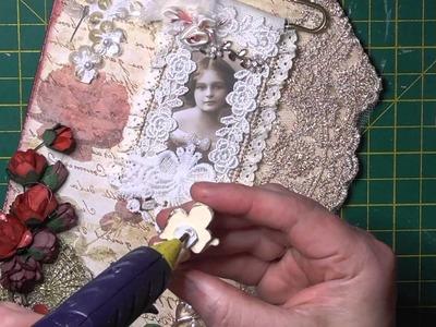 Easy to make vintage tag full tutorial