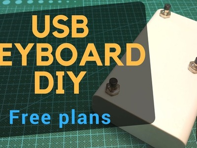???? Fast, cheap, simple: DIY USB foot pedal (keyboard) for teleprompter, programming, gaming