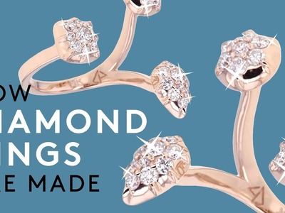 How Diamond Rings Are Made   How Stuff Is Made   Refinery29