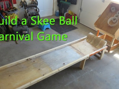 How to Build a Skee Ball Game