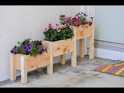 How to build a Tiered Cedar Planter Box