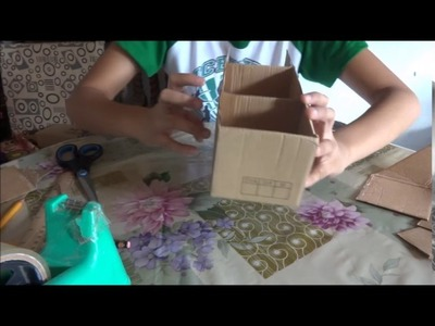 How to make a shelf using shoe box