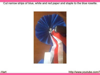 How to Make a Tricolore Rosette