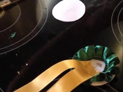 How to make a winner Rossette