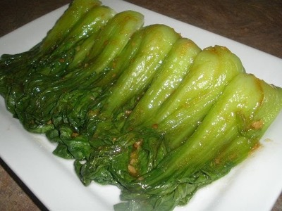 How to make Chinese Baby Bok Choy with Garlic and Oyster Sauce