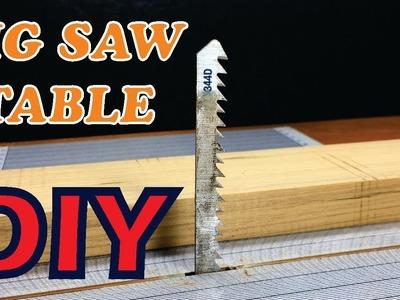How to make Jig Saw table | DIY Jig Saw Table