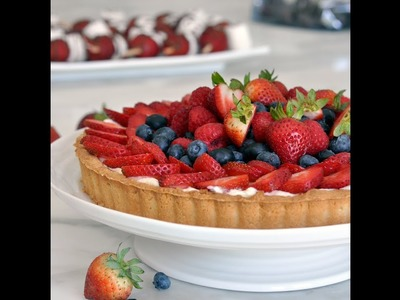 How to Make the Perfect Custard-Filled Fruit Tart by Cooking with Manuela