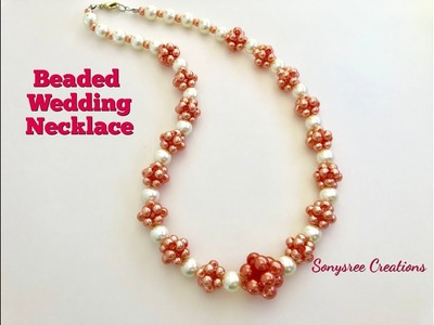 How to make this Beautiful Wedding Necklace