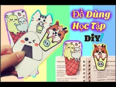 Hướng Dẫn Làm Đồ Dùng Học Tập - Bookmark DIY