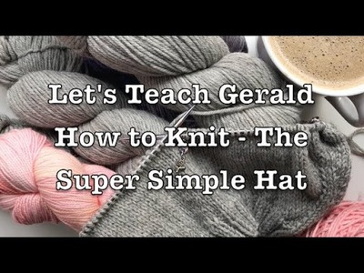 Learn to Knit - All about Gauge and Joining in the Round