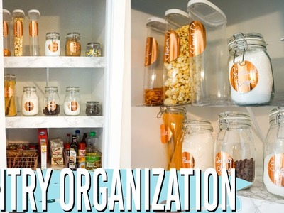 Organizing My Pantry!