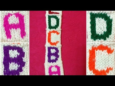 #Part-1 Woolen Letters on Sweater in Hindi.Customize your Sweater.Requested Video:Design-129