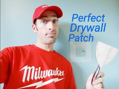 Perfect Drywall Patch How To (TIPS PROS DON'T EVEN KNOW!)