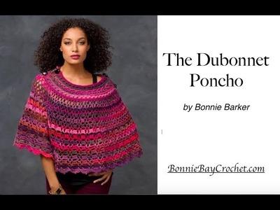 The Dubonnet Poncho, VIDEO #1, by Bonnie Barker
