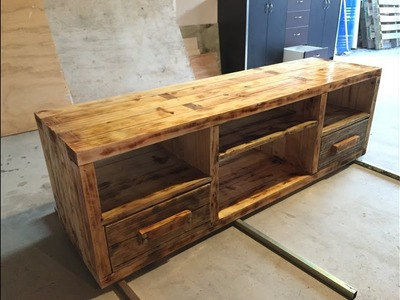 Tv unit or tvstand make out from 2x4