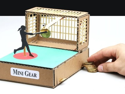 Wow! Amazing DIY Baseball Game with Coin