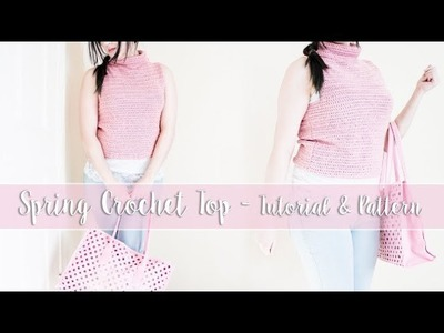 Basic Crochet Top Tutorial (Beginner Friendly)