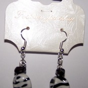 Black & White Earrings