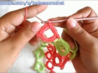Blouse or dress in crochet (ganchillo) subtitles english