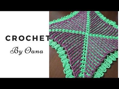 Crochet lovely granny square version by Oana