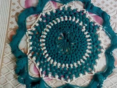 Crochet table mat pattern#1