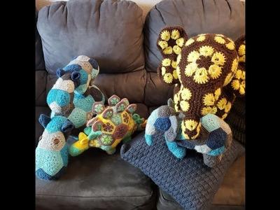 Crochet talk #8 My African flower crochet obsession ????