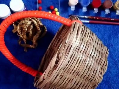 DIY Basket Decoration