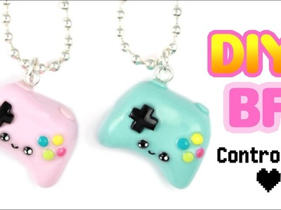 DIY BFF Game Controllers! - CLAY DIY! | KAWAII FRIDAY