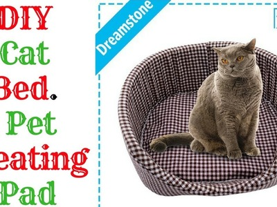 DIY Cat Bed ||  Pet Heating Pad
