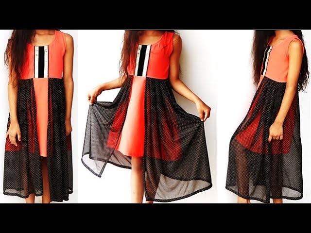 DIY Designer Baby Girl Dress Cutting And Stitching Tutorial